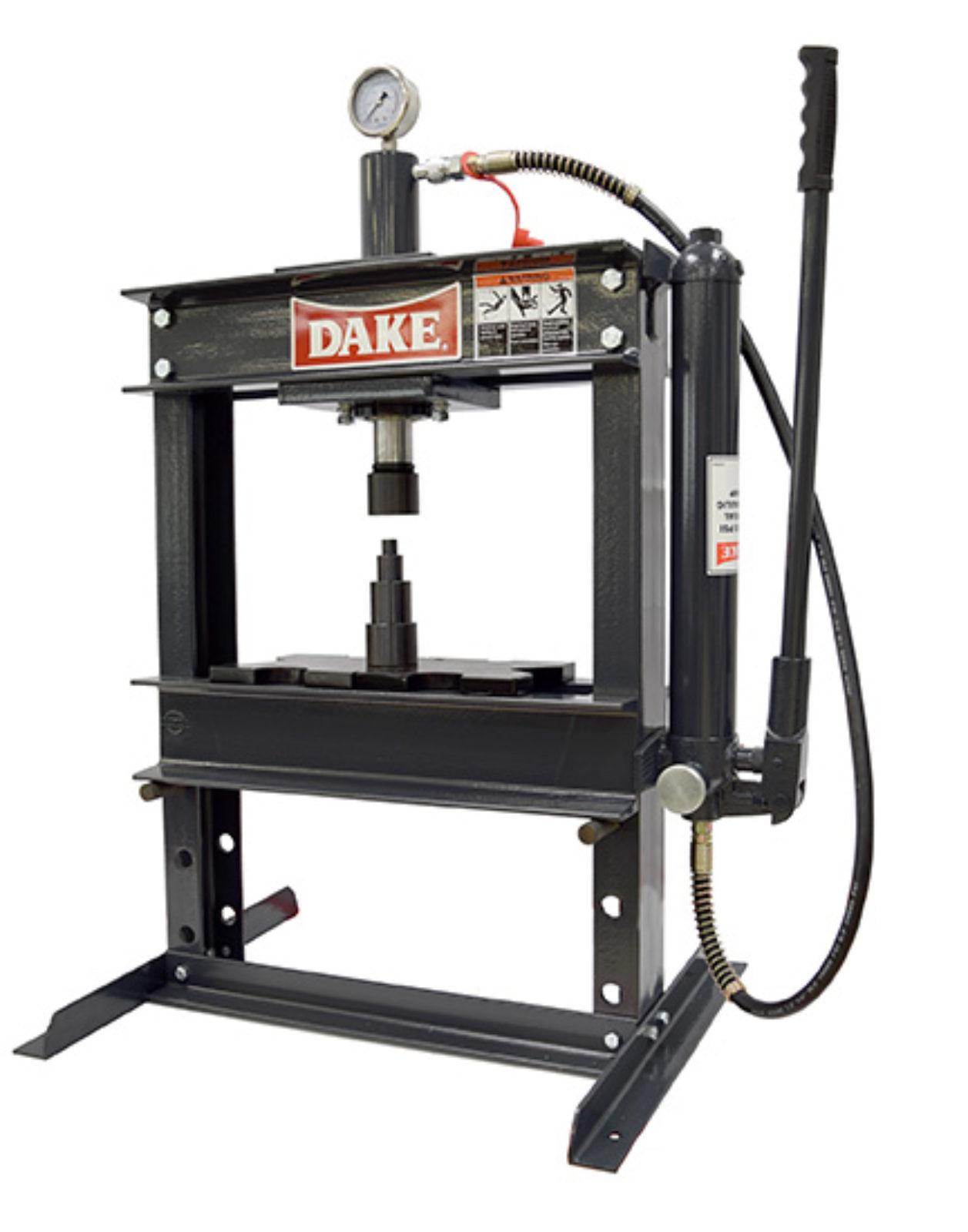 Dake B-10 Utility Press Seal and Spring Repair for Metalworking