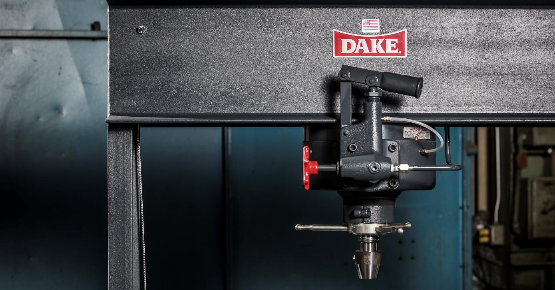 Dake Hydraulic Press Solving Workshop Problems