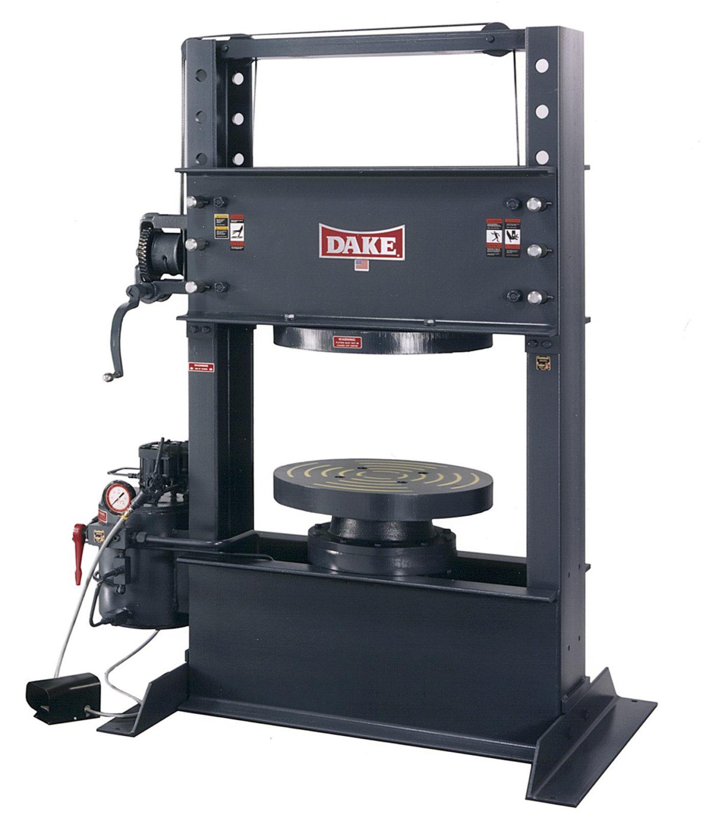 Dake 150 Ton Up Acting Tire Press